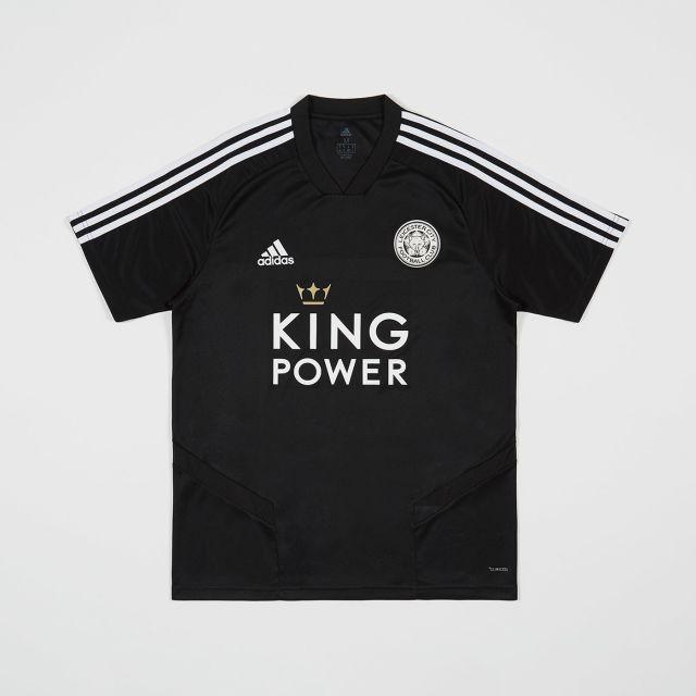 Leicester City Football Club Black Training Jersey 2019 - 2020
