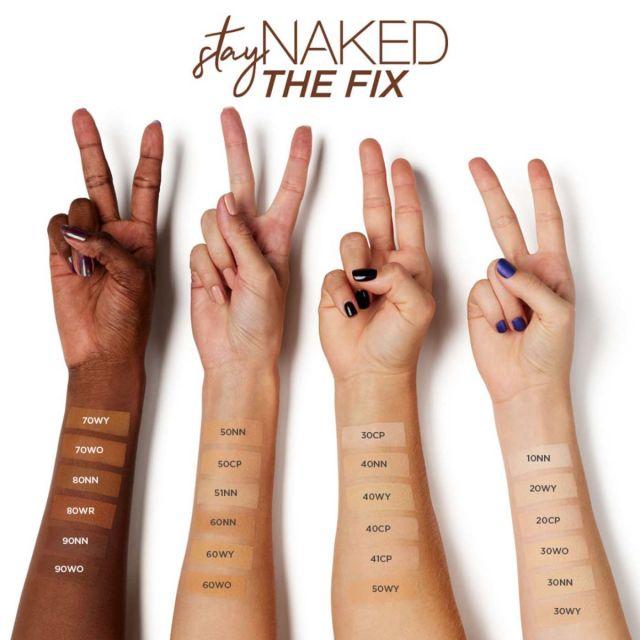 Stay Naked The Fix   Le fond de teint poudre, ça marche